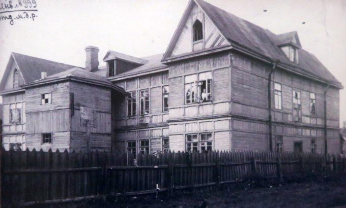 Дом, в котором размещалось Нарвское районное отделение профсоюза металлистов в 1909 году. Огородников переулок, дом 5.