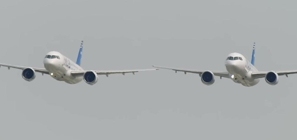 Авиасалон и год, богатый событиями